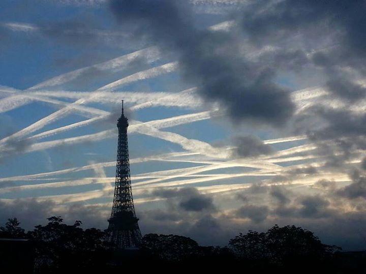 Chemtrails en Paris